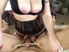 Mistress Amy Pegs His Ass II
