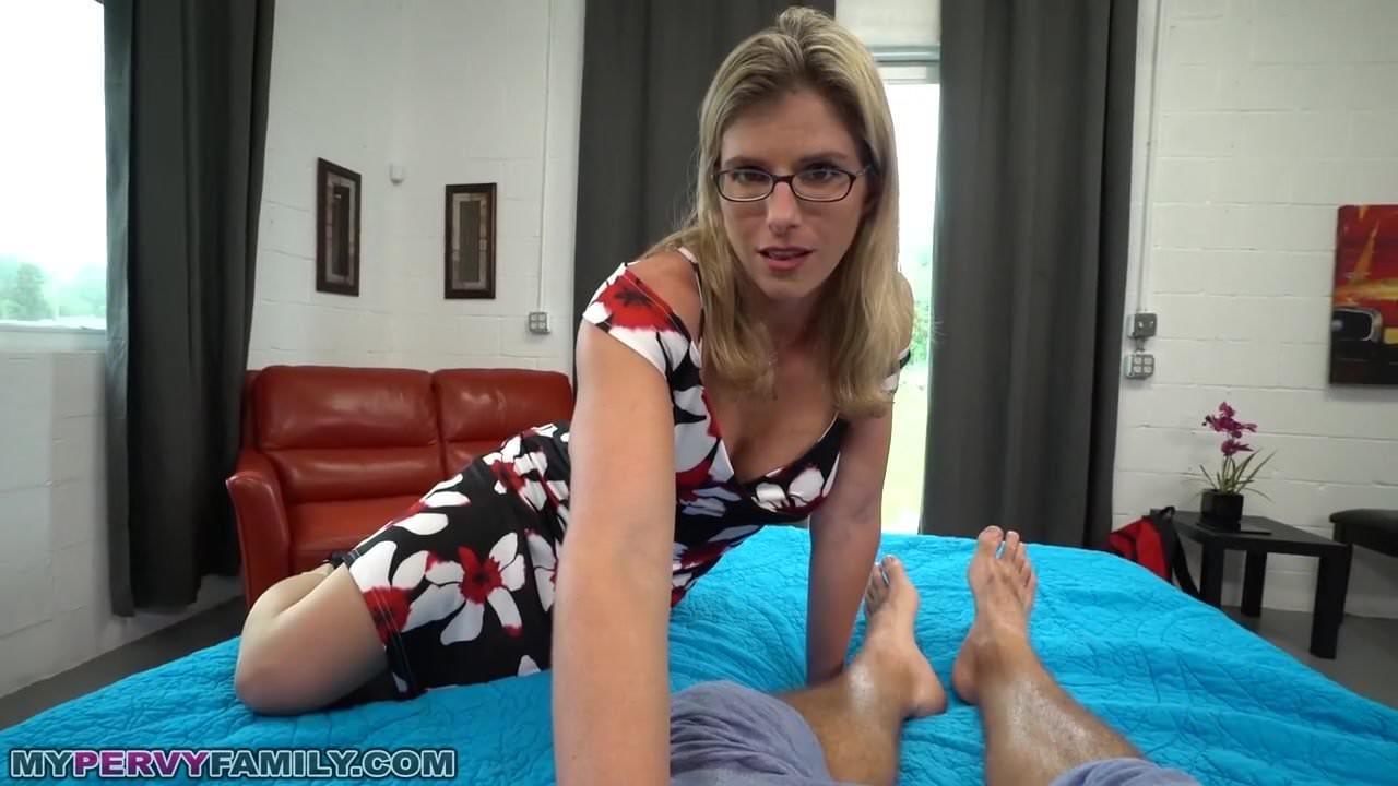 Slut mom wakes son for sex