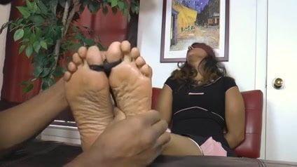 Milf feet soles tickle something