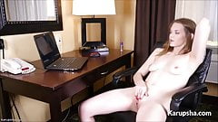 Staci May Hot Solo Masturbation