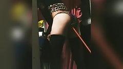 fucking my dildo like a sissy slut