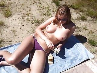 Big Tits Teen Sunbathing Naked