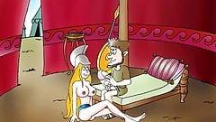 ILIADA II: H EPISTROFH (greek cartoon xxx)