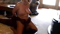 Cuckold films his mature wife