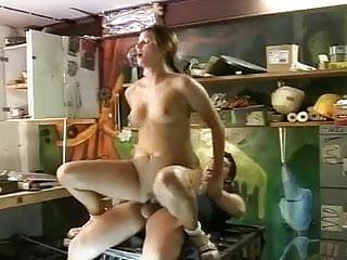 Lucky Neighbour gets BJ & Fucking from a Horny Teen Girl