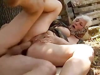 Preview 3 of 2 Farm Grannies seduced by young man