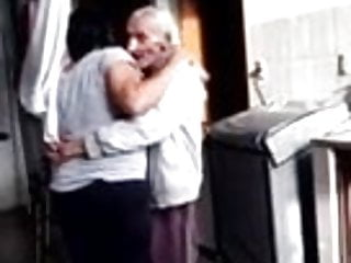 brazilian old guy trying to fuck his daughter in law