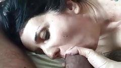 Wife sucking her man P1