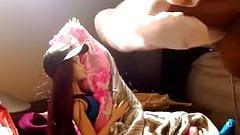 Curvy Barbie in Girlfriend's Panties