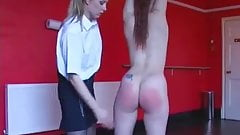 Lezdom - Spanking and caning