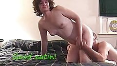 FEMDOM MILF MAKES GUY CLEAN UP HIS MESS