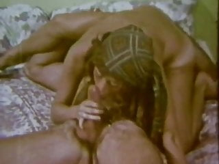 Vintage Classic Hippies In Group Orgy