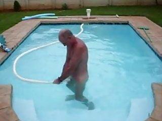 Pool suction masturbation