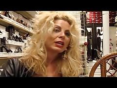 Euro MILF Alessandra Schiavo fucks the shoe salesman