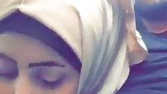 Beurette arab hijab turban voile