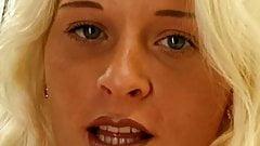 Natural Blonde Housewife Masturbation
