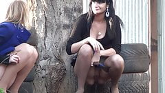 Pissing Forest - Pantyhose
