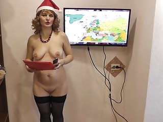 Russian Wife strip naked