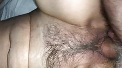 My hairy milf pov