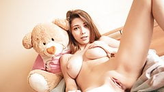 Mila Azul nude model erotic photo shoot fpr Plushies TV's Thumb