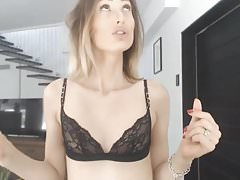 Beautiful Teen Sucks And Rides Her Partner Huge Cock