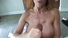 Handjob Mature Experte,By Blondelover.