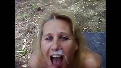 Mature Head #34 (Outdoors on her knees where she Belongs)