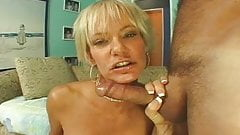 dirty talking blonde milf