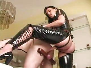 Mistress Megan Strap On Action