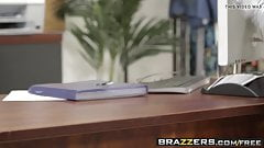 Brazzers - Hot And Mean - Lick A Boss scene starring Bobbi D