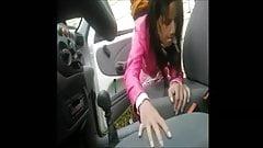 Street hooker fuckt next to car on hidden cam