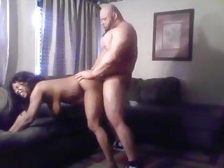 Sexy,Curvy Black Milf with Muscular Stud
