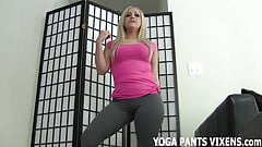 Watch me do my yoga and you will get so hard JOI
