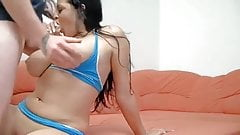 Big Tits, Double pierced nipples, Anal, pierced clit