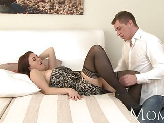 Mom Horny Milf Is So Grateful To Finally Have A Man In Her B