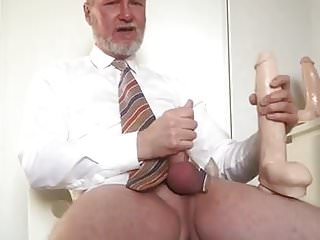 My New Jeff Stryker Dildo Feels So Good