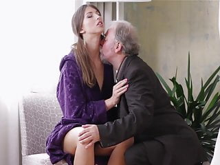Young Lady Loves Getting Fucked By Old Man Hd