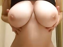 Perfect boobs dropping