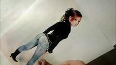 cum tribute jeans ass