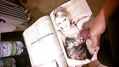 Cumming on Italian Marie Claire Magazine
