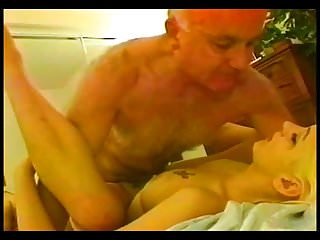 dv blond hairy old man big-bang with a young blonde
