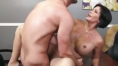 Hot mature big tits