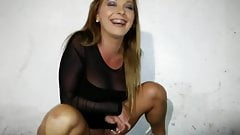 Pirced Pussy Babe Pissing by FetishGreg88
