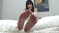 My stinky feet need to be cleaned