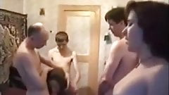 Russian amateur sex party