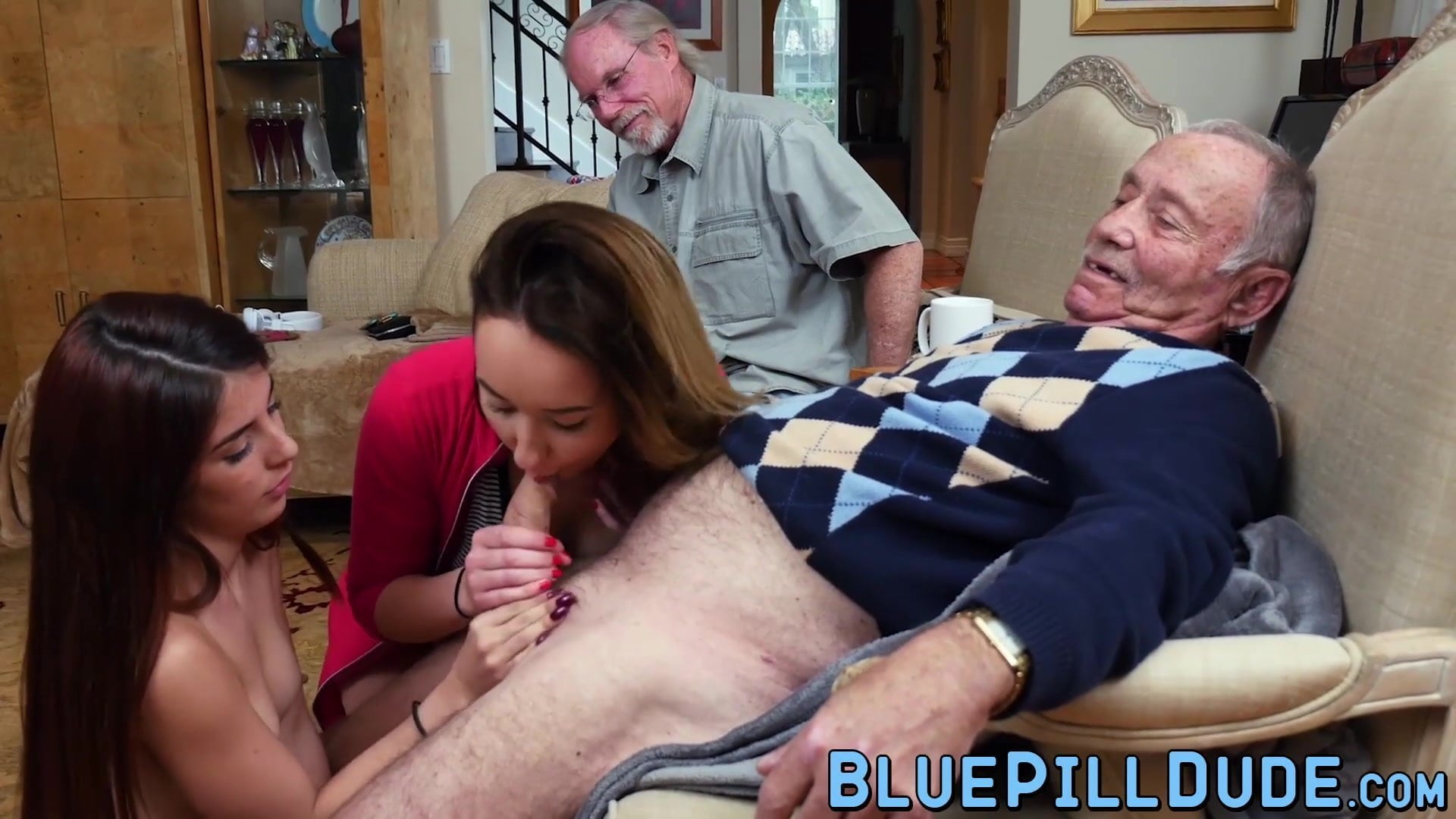Old man handjob compilation video — pic 8