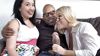 Cherish Red And Her Mom Cherish Red Fuck A Huge Black Cock
