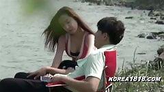 korean girl fuckked in the car