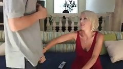 Milf has to pay off debt
