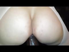 Slut Fucks And Rides Huge BBC Dildo
